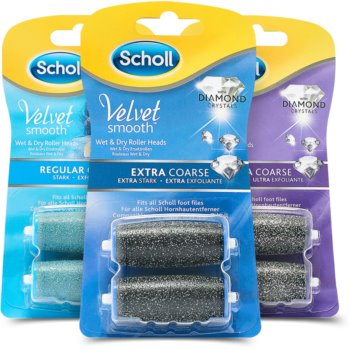 Scholl Velvet Smooth Regular Coarse set cosmetice I.