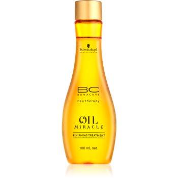 Schwarzkopf Professional BC Bonacure Oil Miracle Argan Oil tratament pentru par cu fir gros, aspru și uscat  100 ml