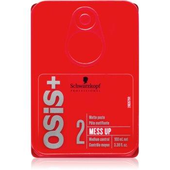 Schwarzkopf Professional Osis+ Mess Up pasta mata fixare medie imagine produs