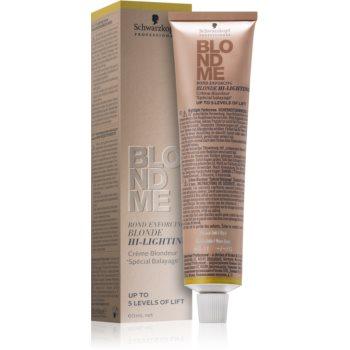 Schwarzkopf Professional Blondme crema decoloranta imagine produs