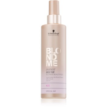 Schwarzkopf Professional Blondme tónovací sprej pro blond vlasy odstín Ice 250 ml