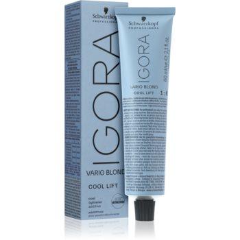 Schwarzkopf Professional IGORA Vario Blond barva na vlasy Cool Lift 60 ml