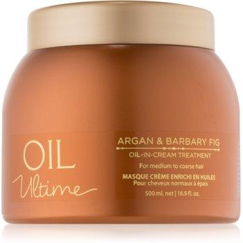 Schwarzkopf Professional Oil Ultime Tratament de îngrijire cu ulei de argan pentru par aspru.