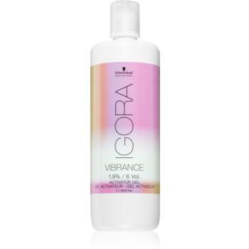 Schwarzkopf Professional IGORA Vibrance lotiune activa cu textura de gel imagine produs