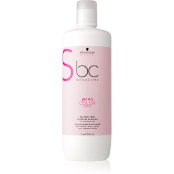 Schwarzkopf Professional pH 4,5 BC Bonacure Color Freeze șampon micelar fara sulfati