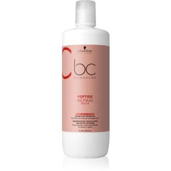Schwarzkopf Professional BC Bonacure Repair Rescue șampon micelar răcoritor pentru par foarte deteriorat