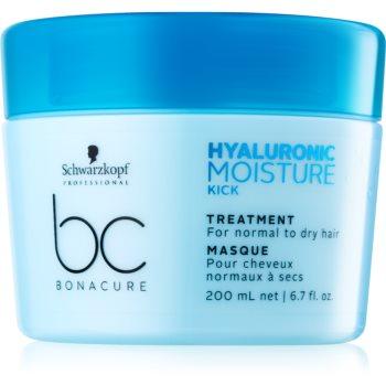 Schwarzkopf Professional BC Bonacure Moisture Kick Masca de par cu acid hialuronic  200 ml