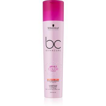 Schwarzkopf Professional BC Bonacure pH 4,5 Color Freeze ?ampon micelar pentru nuante de par roscat imagine produs