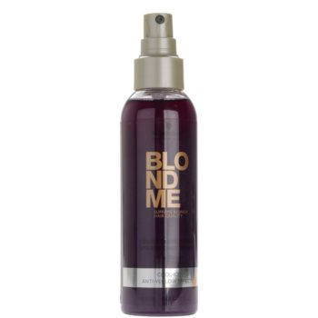 Schwarzkopf Professional Blondme condicionador sem enxaguar em spray para tons loiros frios de cabelo 2
