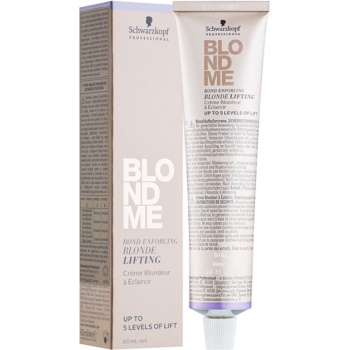 Image of Schwarzkopf Professional Blondme Lightening Cream For Blonde Hair Color L - Steel Blue 60 ml