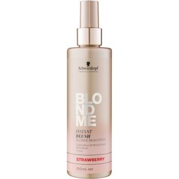 Schwarzkopf Professional Blondme spray tonifiant pentru par blond
