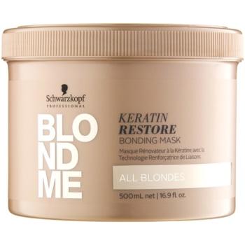 Schwarzkopf Professional Blondme Keratina Restore Masca pentru toate nuanțele Blond
