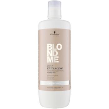 Schwarzkopf Professional Blondme sampon fara sulf pentru nuante inchise de blond