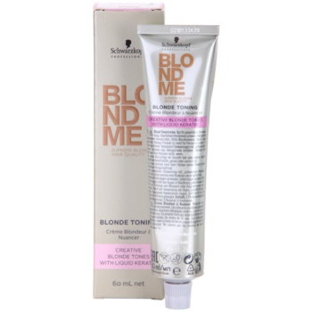 Schwarzkopf Professional Blondme Color crema tonifianta