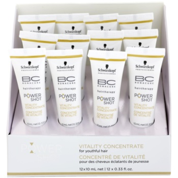 Schwarzkopf Professional BC Bonacure Excellium Power Shot Tratament revitalizant pentru aspectul tineresc al părului