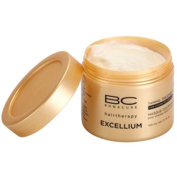 Schwarzkopf Professional BC Bonacure Excellium Taming máscara para cabelo maduro e grosso 1