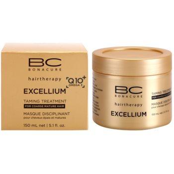 Schwarzkopf Professional BC Bonacure Excellium Taming máscara para cabelo maduro e grosso 2