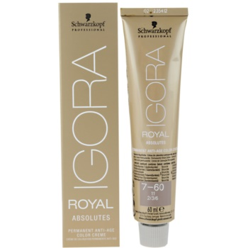 Fotografie Schwarzkopf Professional IGORA Royal Absolutes barva na vlasy odstín 9-50 9-50 9-50 9-50 (Colorists´s Anti-Age Color 60 ml
