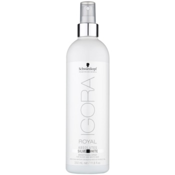 Image of Schwarzkopf Professional IGORA Royal Absolutes SilverWhite Colour-Enhancing Brightening Spray 350 ml