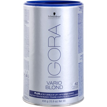 Fotografie Schwarzkopf Professional IGORA Vario Blond zesvětlující pudr 450 g