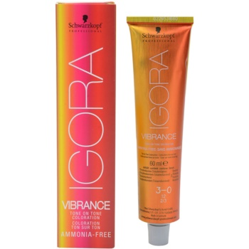 Fotografie Schwarzkopf Professional IGORA Vibrance barva na vlasy odstín 9,5-4 60 ml