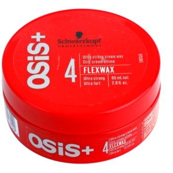 Schwarzkopf Professional Osis+ FlexWax ceara cremoasa fixare ultra-puternica