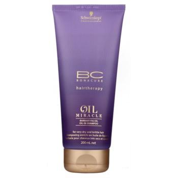 Schwarzkopf Professional BC Bonacure Oil Miracle Barbary Fig Oil sampon regenerator pentru par foarte uscat si deteriorat  200 ml