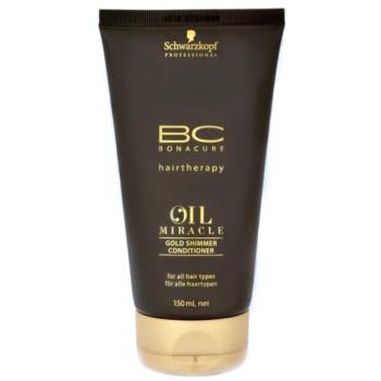 Fotografie Schwarzkopf Professional BC Bonacure Oil Miracle Argan Oil kondicionér pro všechny typy vlasů 150 ml