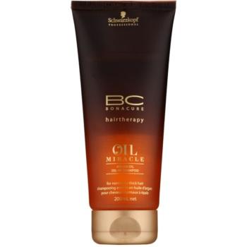 Schwarzkopf Professional BC Bonacure Oil Miracle Argan Oil шампоан за нормална към гъста коса