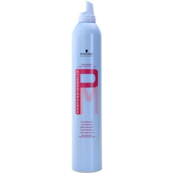 Schwarzkopf Professional PM pěna na vlasy extra silné zpevnění