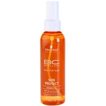 schwarzkopf professional bc bonacure sun protect ulei stralucitor pentru par expus la soare
