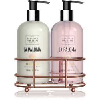 Scottish Fine Soaps La Paloma set de cosmetice VI. pentru femei