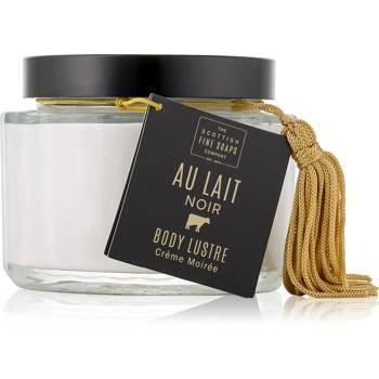 Scottish Fine Soaps Au Lait Noir crema ce ofera luminozitate si hidratare pentru corp