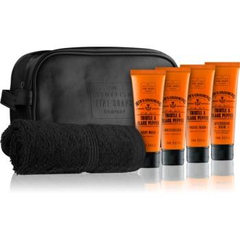 Scottish Fine Soaps Men´s Grooming Thistle & Black Pepper set cosmetice III.