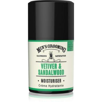 Scottish Fine Soaps Men's Grooming Vetiver & Sandalwood crema de fata hidratanta pentru barbati