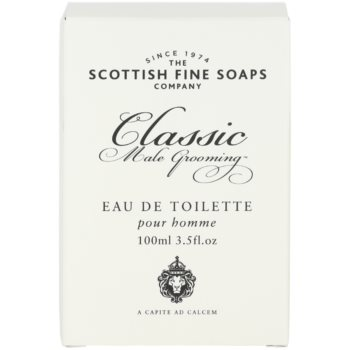Scottish Fine Soaps Classic Male Grooming Eau de Toilette para homens 1