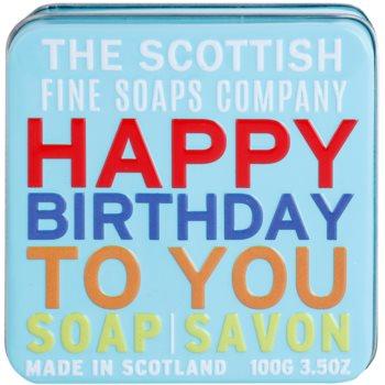 Scottish Fine Soaps Happy Birthday to You Luxusseife mit Blechetui 2