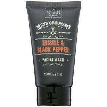 Scottish Fine Soaps Men´s Grooming Thistle & Black Pepper Gel facial de curatare