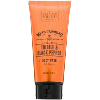 Scottish Fine Soaps Men´s Grooming Thistle & Black Pepper gel de dus