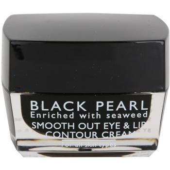 Sea of Spa Black Pearl creme para lábios e contorno dos olhos para todos os tipos de pele