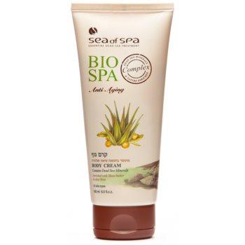 Sea of Spa Bio Spa tělový krém s aloe vera a bambuckým máslem 180 ml