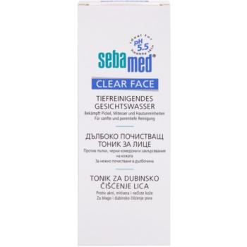 Sebamed Clear Face tónico facial de limpeza profunda 2