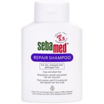 Sebamed Hair Care sampon pentru regenerare pentru par uscat si deteriorat