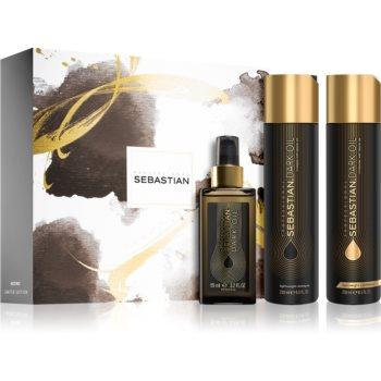 Sebastian Professional Dark Oil set cadou (pentru un par stralucitor si catifelat) imagine produs
