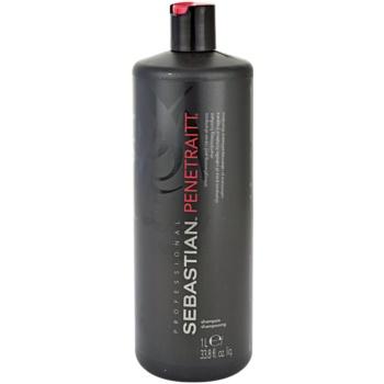 Fotografie Sebastian Professional Penetraitt šampon pro poškozené, chemicky ošetřené vlasy 1000 ml