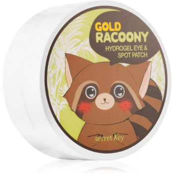 Secret Key Racoony Gold masca hidrogel pentru ochi cu aur imagine produs