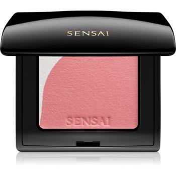 Sensai Blooming Blush blush cu efect iluminator cu pensula