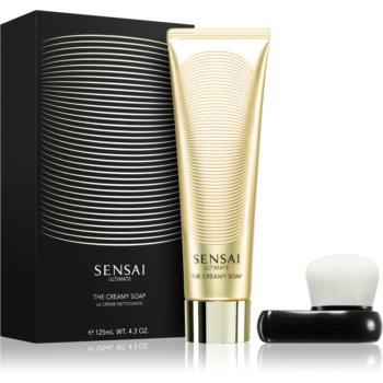 Sensai Ultimate sapun crema cu pensula