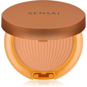 Sensai Silky Bronze ochranný voděodolný opalovací pudr SPF 30 SC04 Dark 8,5 g