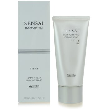 Sensai Silky Purifying Step Two крем сапун за нормална и суха кожа 2
